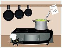 Cat cook Stock Photos