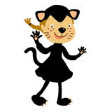 Cat costume for kids Royalty Free Stock Photo