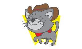 Cat Cowboy Stock Images