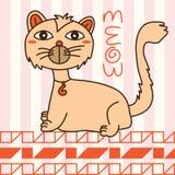 Cat cute design  Royalty Free Stock Photo