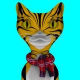 Cat 3d. Stock Photography