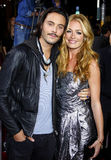 Cat Deeley et Jack Huston Image libre de droits