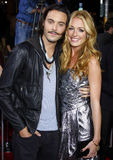 Cat Deeley et Jack Huston Images stock