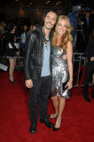 Cat Deeley Jack Huston Royaltyfri Fotografi