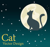 Cat design Royalty Free Stock Images