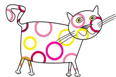 CAT DIVERTIDO Libre Illustration
