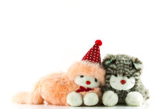 Cat doll. Royalty Free Stock Image