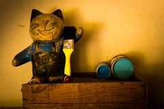 Cat doll Stock Images