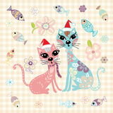 Cat Doodle Vector Illustration de Vecteur