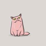 Cat doodle Stock Images
