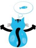 Cat Dreams Lizenzfreies Stockbild