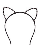 Cat ears shaped hair hoop Royalty Free Stock Photo