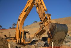 Free CAT-excavator Stock Photo - 1927880