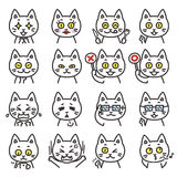 Cat expressions 02 Stock Photography