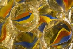 Cat Eye Marbles Soda Stock Photography