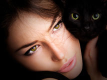Cat Eyes Immagine Stock