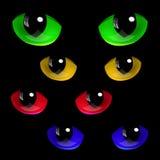 Cat Eyes Image libre de droits
