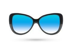 Cat eyes Fashion glasses style isolated on white background. Royalty Free Stock Photo