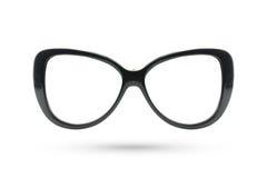 Cat eyes masquerade fashion glasses style isolated on white back Stock Photography