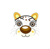 Cat face - vector illustration Stock Image