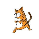 Cat fat cartoon Stock Photos