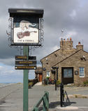 The Cat and Fiddle Pub Royalty Free Stock Photo
