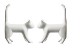 Cat Figurines Stock Photo