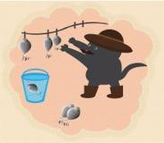 Cat fisher Stock Photo