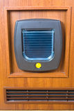 Cat flap Stock Photo