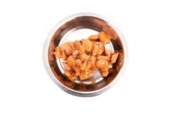 Cat food. royalty free stock photos