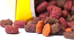 Cat food. stock photos