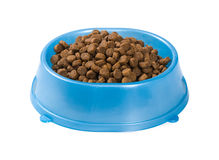 Cat food in a bowl Royalty Free Stock Photography