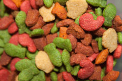 Cat food closeup Royalty Free Stock Image
