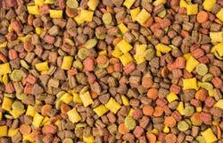 Cat food granule background pattern. Cat food granule background texture pattern stock images