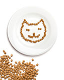 Cat food Stock Image
