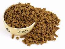 Cat Food Spill Stock Photos