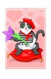 Cat Frenchman Royaltyfria Foton