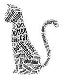 Cat graphics Royalty Free Stock Photos