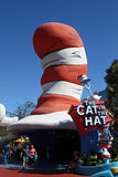 Cat in the Hat Stock Image