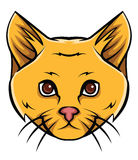 Cat Head Tattoo Vector Illustration Photos stock