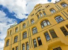 Cat House à Riga Image stock