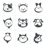 Cat icon,  illustration Royalty Free Stock Photo