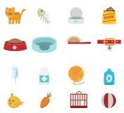 Cat icon set  Royalty Free Stock Image