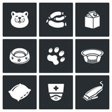 Cat icon set. Vector Illustration Royalty Free Stock Photos