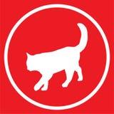 Cat icon Stock Image