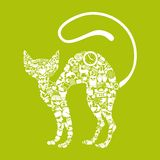Cat icon Royalty Free Stock Photography