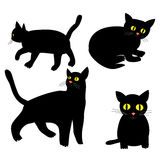 Cat Icons Stock Photography
