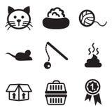 Cat Icons Royalty Free Stock Photo