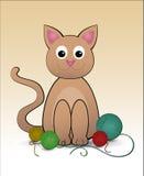 Cat Illustration Imágenes de archivo libres de regalías