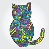 Cat illustration Royalty Free Stock Photos